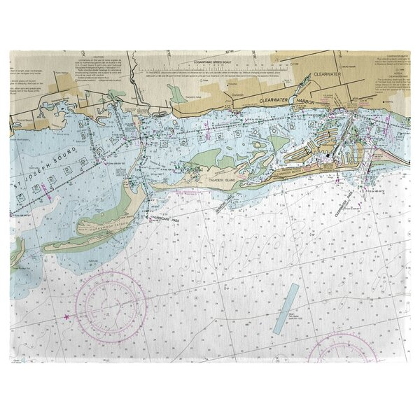 Clearwater Harbor, FL 18 Placemat (Set of 4) by East Urban Home