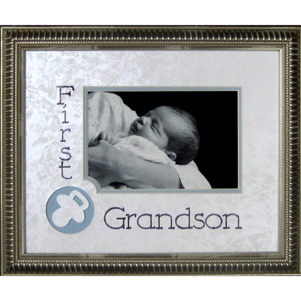 First Grandson Frame Photographic Print by The James Lawrence Company