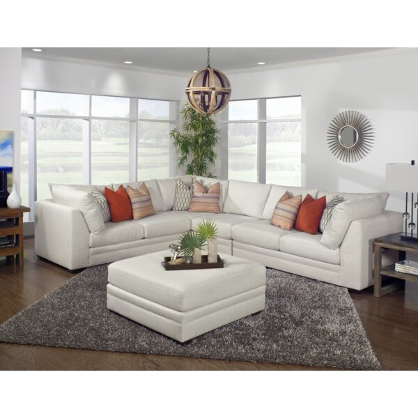 Hagaman Sectional with Ottoman by Ivy Bronx