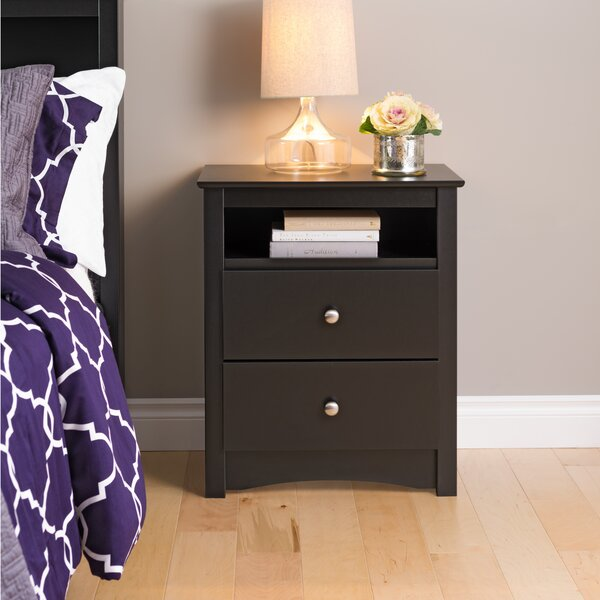Legrand 2 Drawer Nightstand by Andover Mills