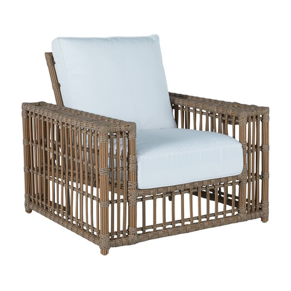 Newport Recliner Patio Chair with Cushions by Summer Classics