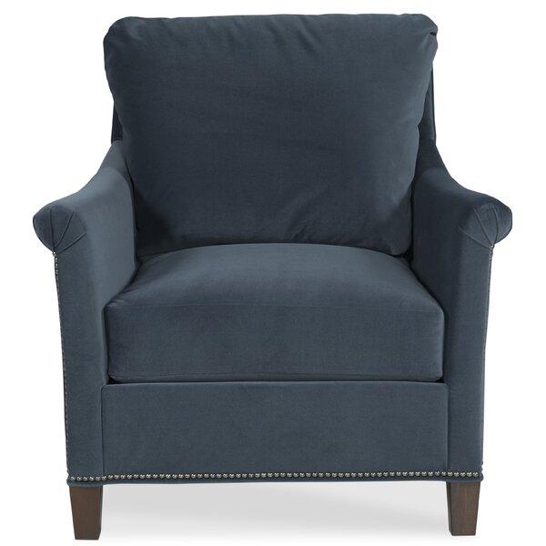 Olivia Armchair and Ottoman by Fairfield Chair