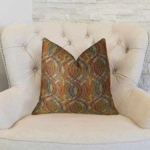 Orbitz Handmade Throw Pillow by Plutus Brands