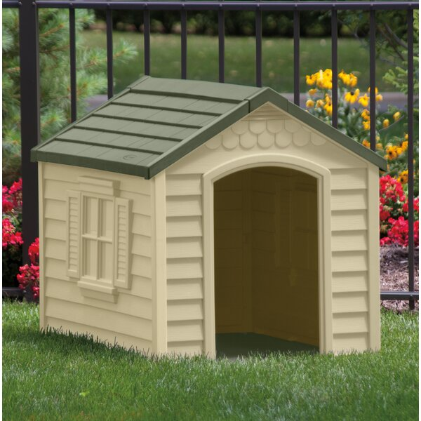 Herrington Deluxe Dog House in Tan & Mocha by Tucker Murphy Pet