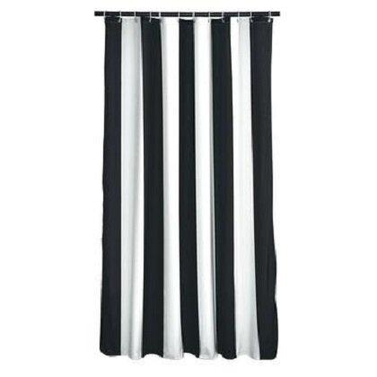 Fagin Stripes Shower Curtain by Breakwater Bay