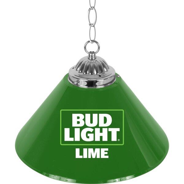 Bud Light Pool Table Lights Pendant by Trademark Global