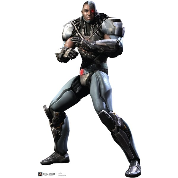 Cyborg - Injustice DC Comics Game Cardboard Standup by Advanced Graphics