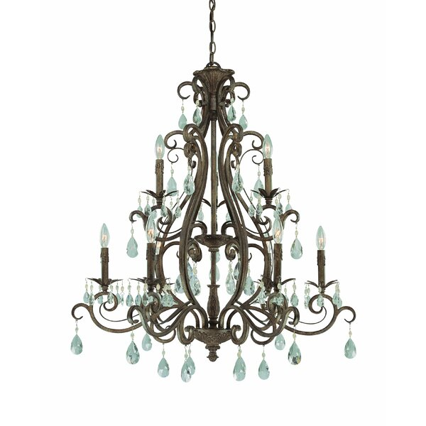 Lilliane 9-Light Candle Style Chandelier by Astoria Grand