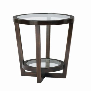 Reviews Zola End Table By Bernhardt