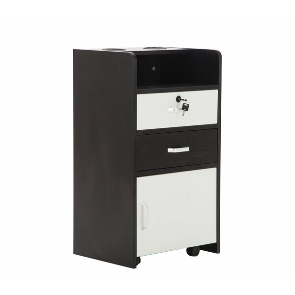 Mobile File Stand Cabinet With Casters