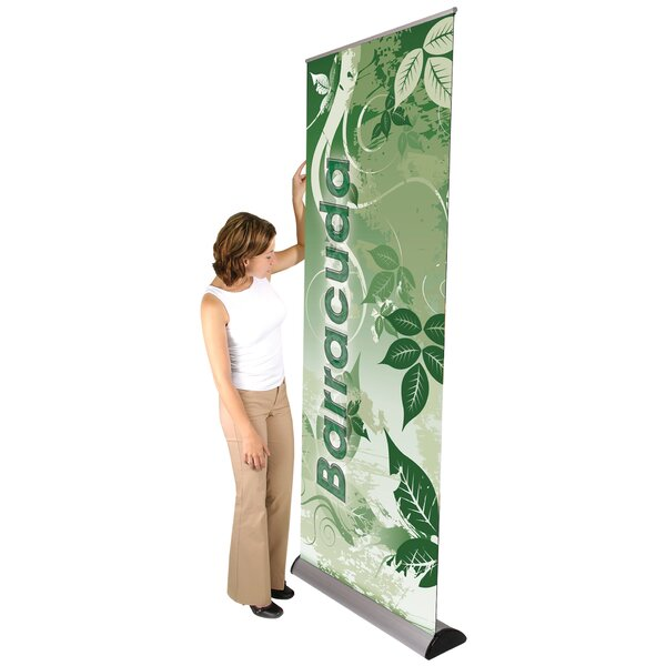 Barracuda Banner Stand by Exhibitor's Hand Book