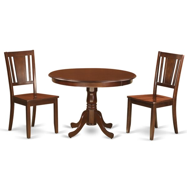 Best  Artin 3 Piece Dining Set By Andover Mills Great Reviews