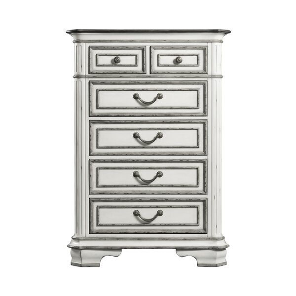 Newsom 6 Drawer Chest by House of Hampton