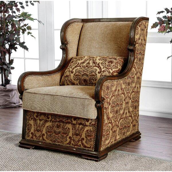 Corvus Traditional Accent Armchair by Fleur De Lis Living