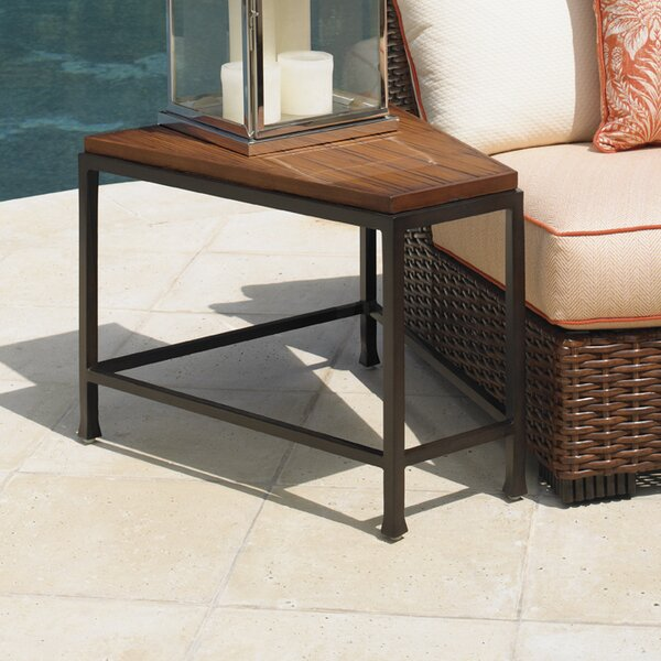 Ocean Club Pacifica Stone/Concrete Side Table by Tommy Bahama Outdoor