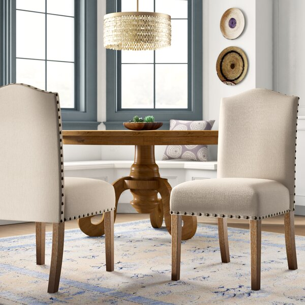 Isla Upholstered Dining Chair (Set of 2) by Mistana