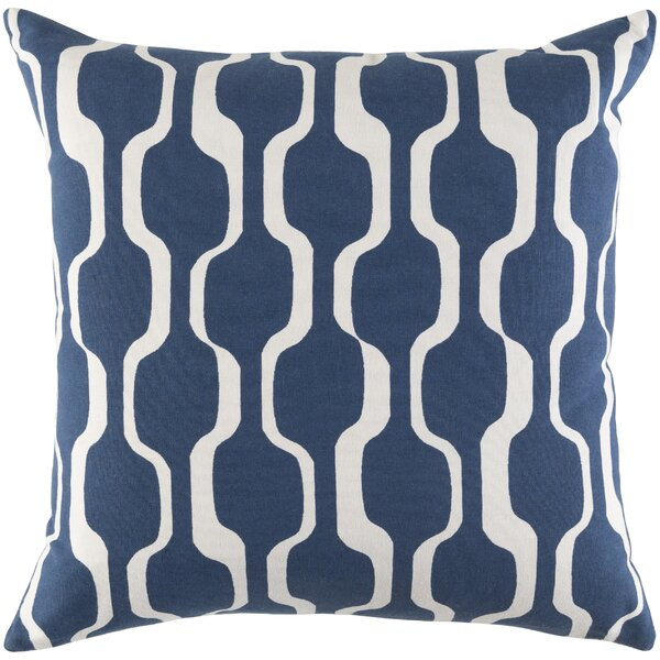 Almon Cotton Pillow Cover by Langley Street