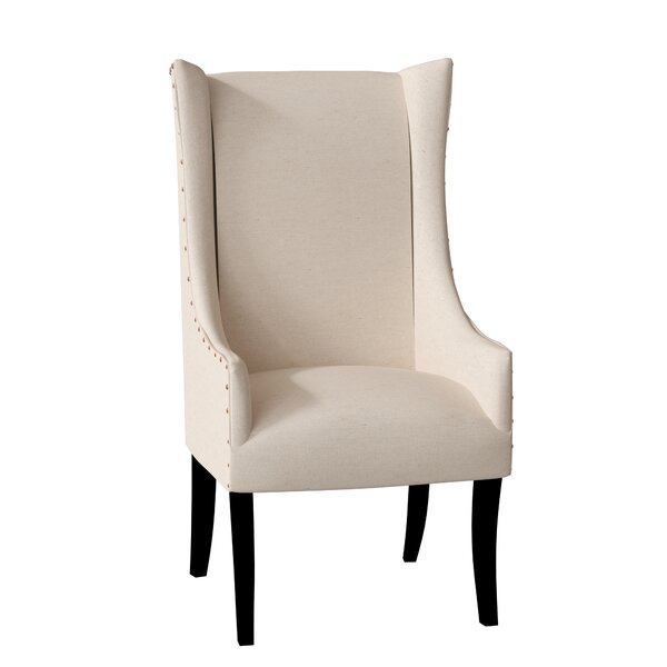 Lulu Upholstered Dining Arm Chair By Latitude Run