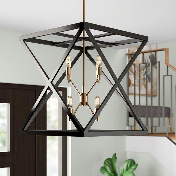 Tanksley 8 - Light Lantern Square Chandelier by Brayden Studio Brayden Studio