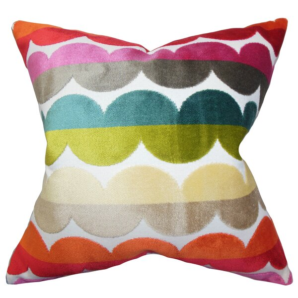 Xois Throw Pillow by The Pillow Collection