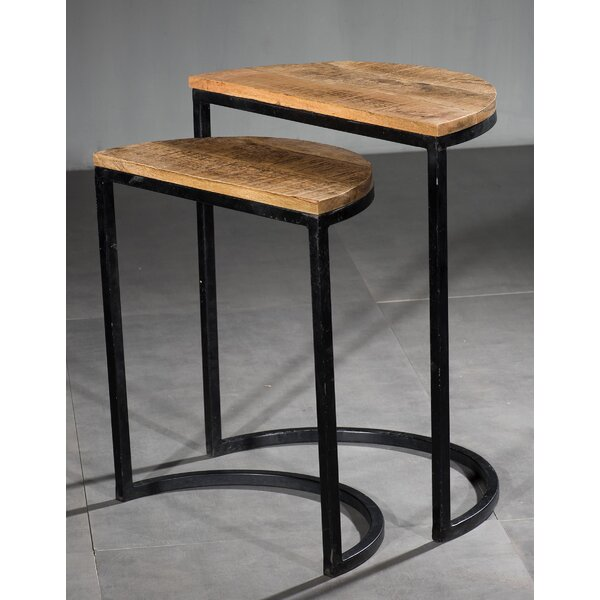 Brush 2 Piece Nesting Tables by Williston Forge