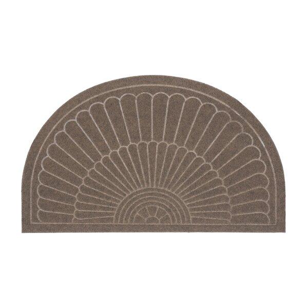 Canaan Semi Circle Doormat by Alcott Hill