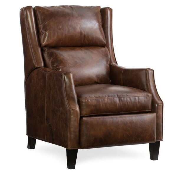 Thomas Leather Power Recliner by Bradington-Young