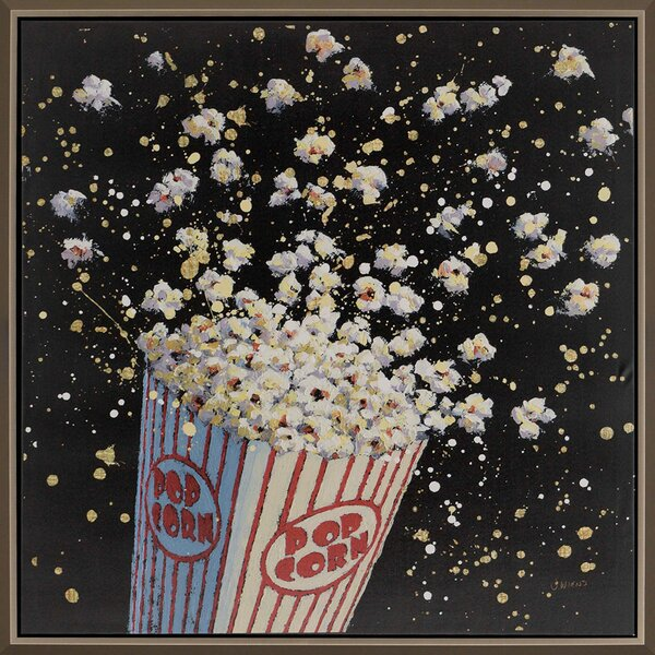 Cinema Pop by Wiens Framed Painting Print by Paragon