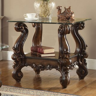 Welton Traditional End Table by Astoria Grand SKU:EE124757 Order