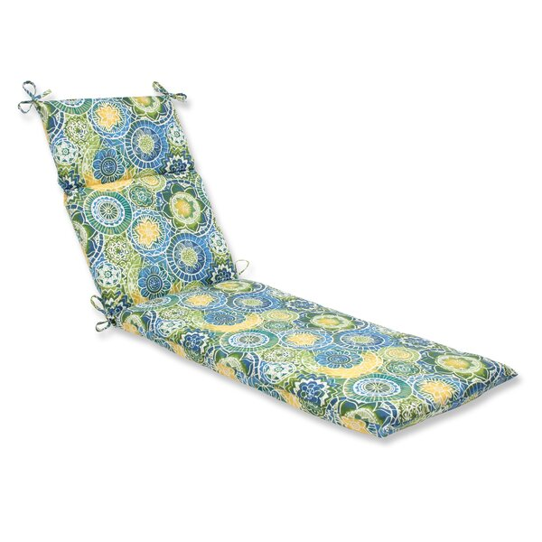 Omnia Indoor/Outdoor Chaise Lounge Cushion by Pillow Perfect