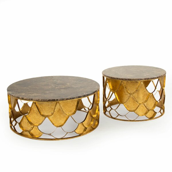 Kelita Casey 2 Piece Coffee Table Set by 17 Stories