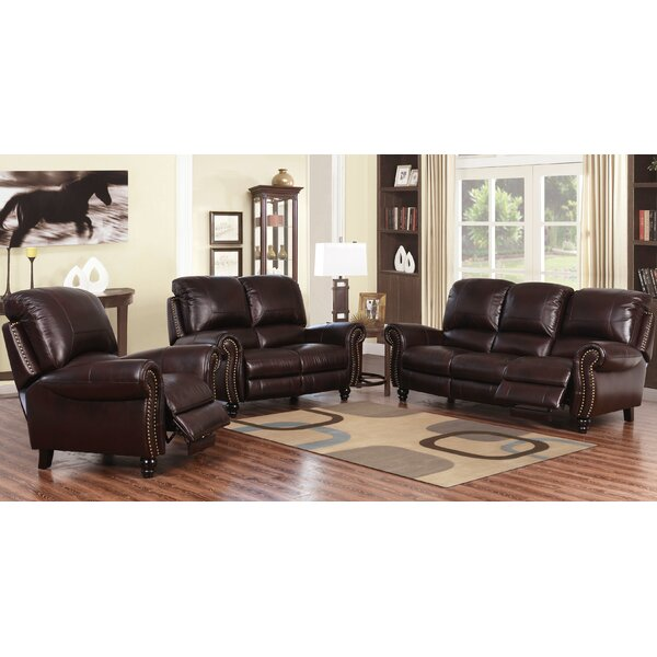Tanguay Reclining Configurable Living Room Set by Williston Forge