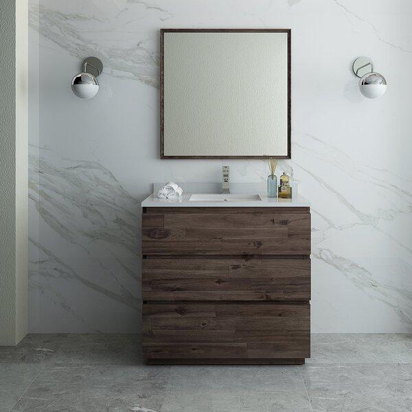 Formosa Floor Standing 36 Single Bathroom Vanity Set with Mirror