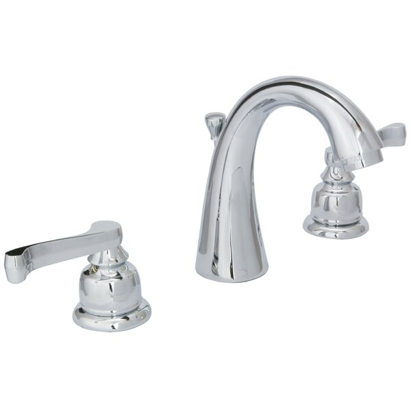 Sienna Widespread Bathroom Faucet with Drain Assembly by Huntington Brass