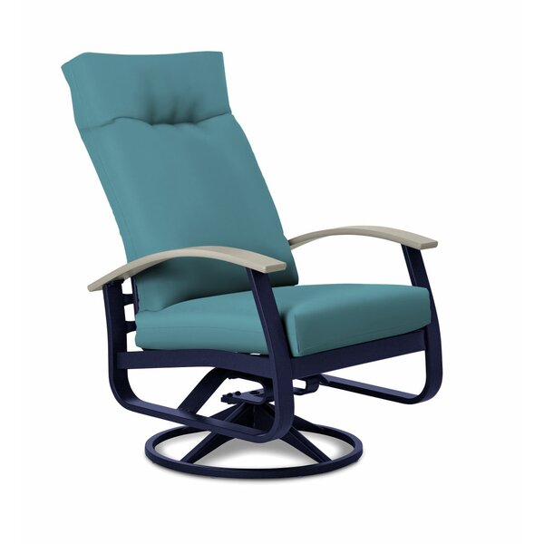 Belle Isle Supreme Height Swivel Rocking Chair With Cushions By Telescope Casual