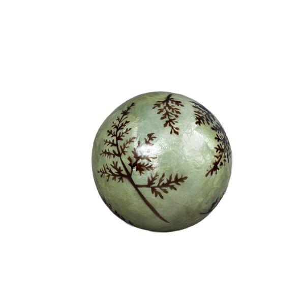 Capiz Fern Ball (Set of 2) by Dekorasyon Gifts & Decor