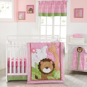 Sassy Jungle Friends 9 Piece Crib Bedding Set