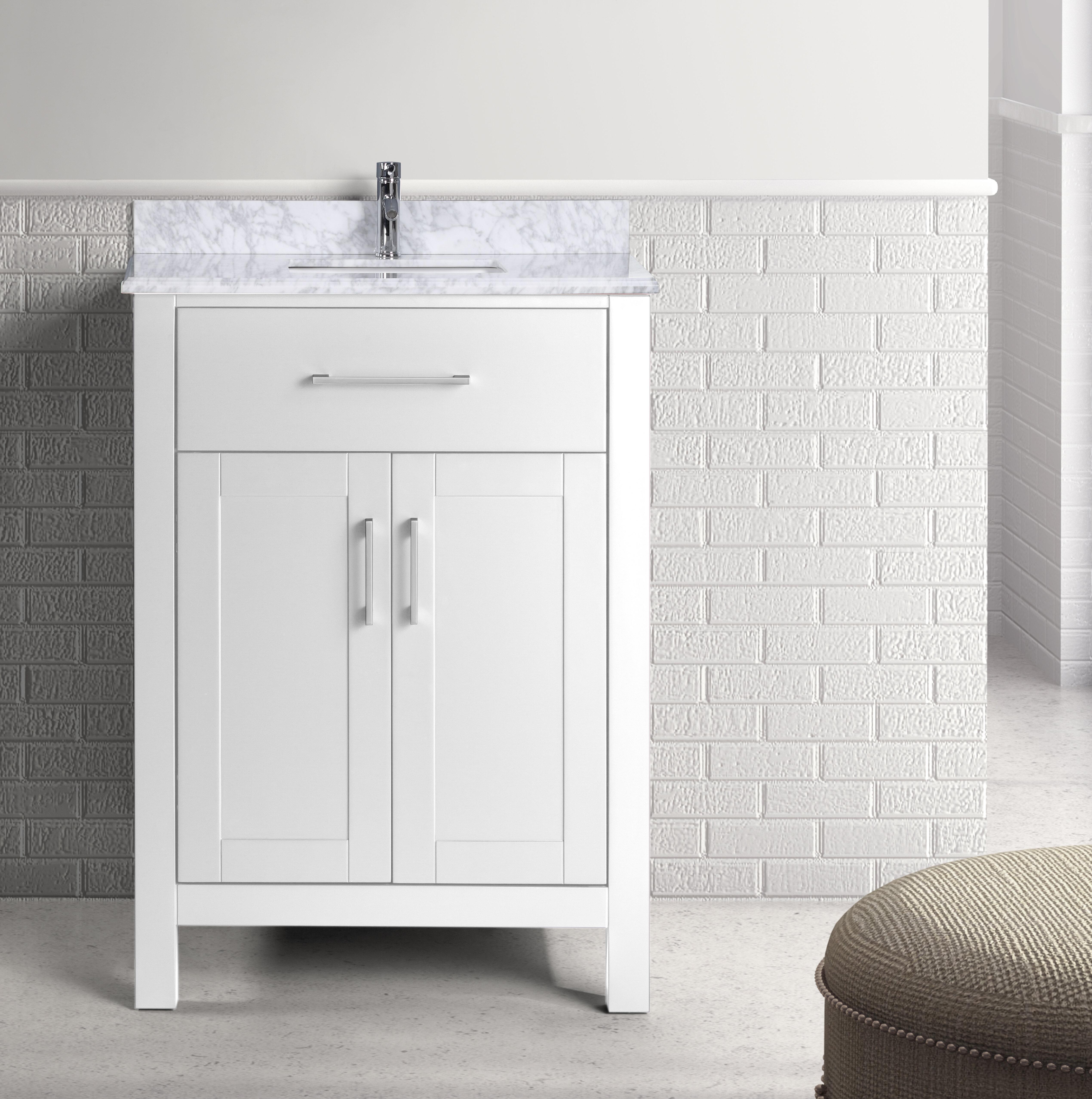 Breakwater Bay Prestwick Single Bathroom Vanity Set Wayfair - Bathroom vanities ocala fl
