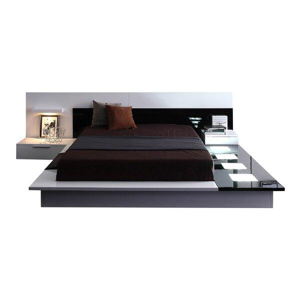 Sabra Platform 2 Piece Bedroom Set by Wade Logan