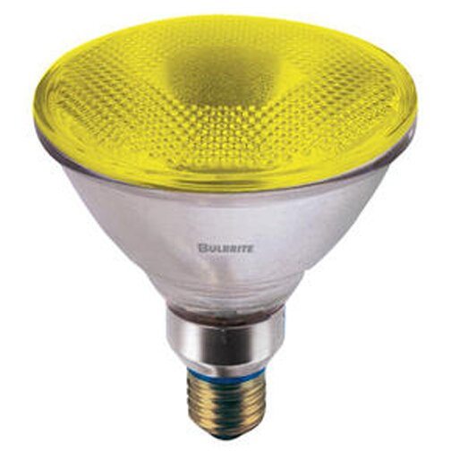 90W Yellow 120-Volt Halogen Light Bulb (Set of 3) by Bulbrite Industries