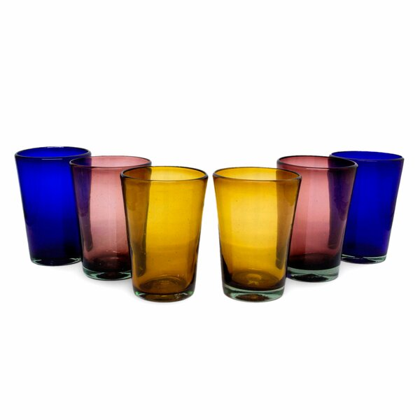 Hand Blown Tumbler (Set of 6) by Novica