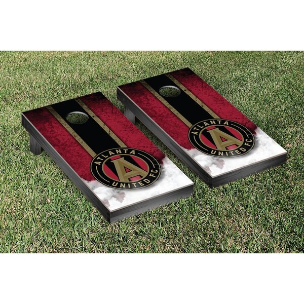 MLS Atlanta United FC Vintage Version Cornhole Game Set by Victory Tailgate
