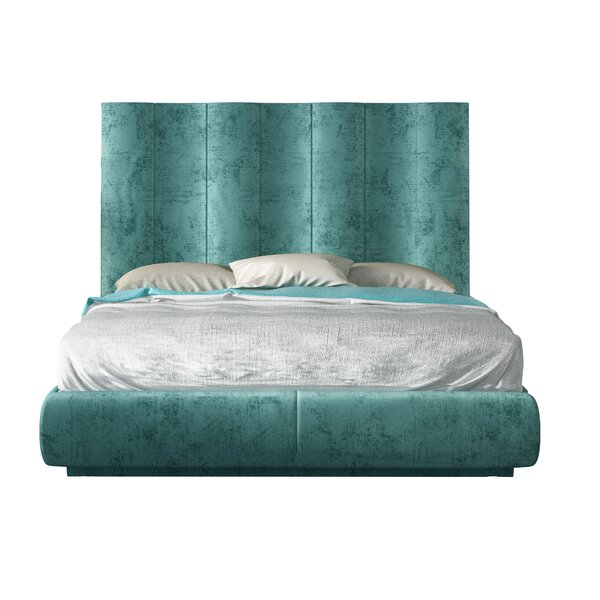 Jerri Queen Upholstered Platform Bed by Everly Quinn