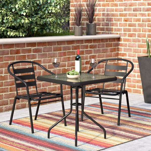 Giffin 3 Piece Bistro Set by Ebern Designs