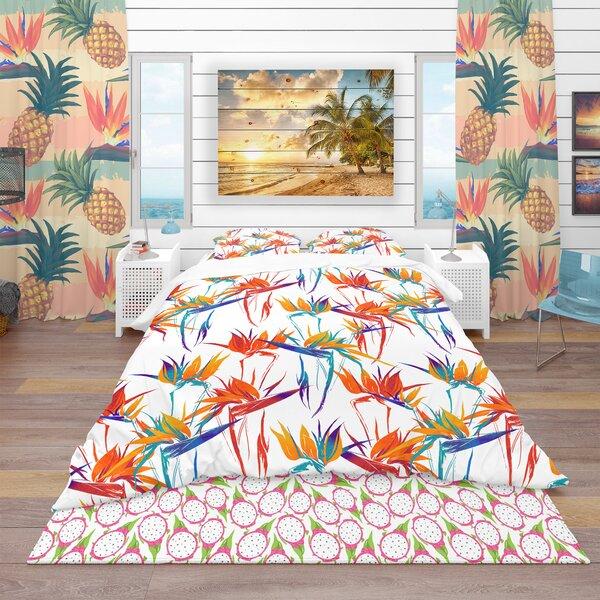 Tropical Duvet Cover Set by East Urban Home