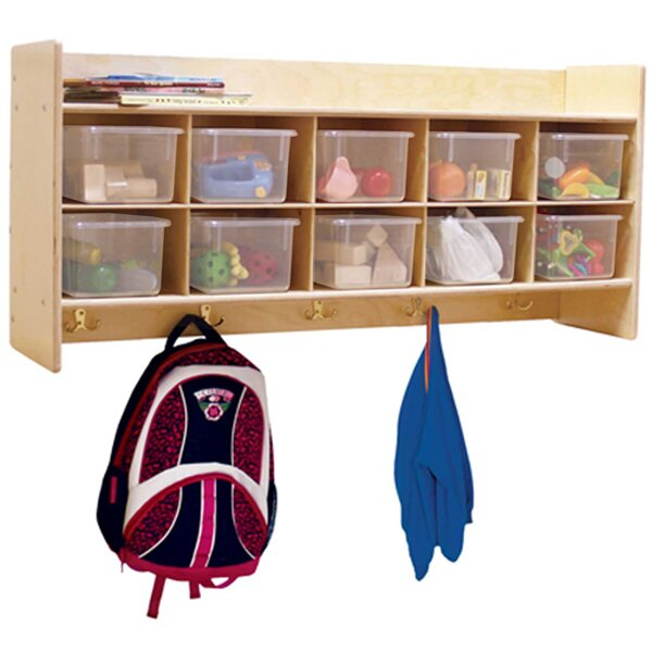 Clarendon 10 Compartment Cubby by Symple Stuff