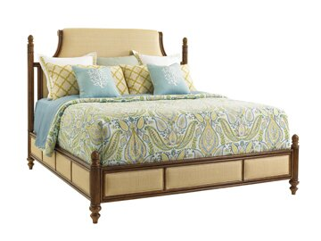 Bali Hai Upholstered Panel Bed by Tommy Bahama Home