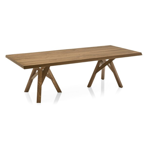 Jungle - Table - Walnut Ash Veneer Top - Walnut Ash Wood Frame and Legs by Calligaris