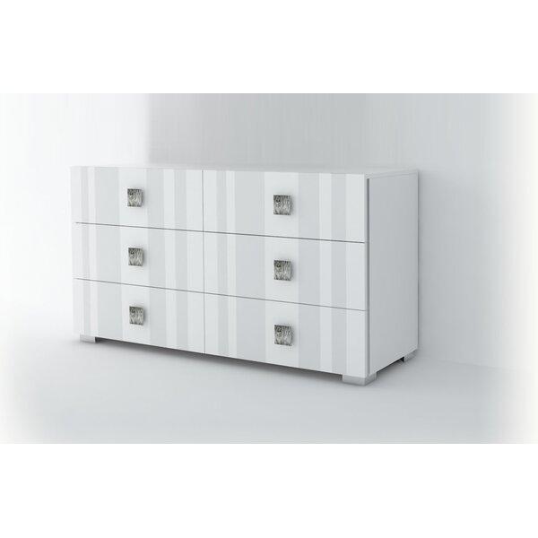 Dorland 6 Drawer Double Dresser by Orren Ellis