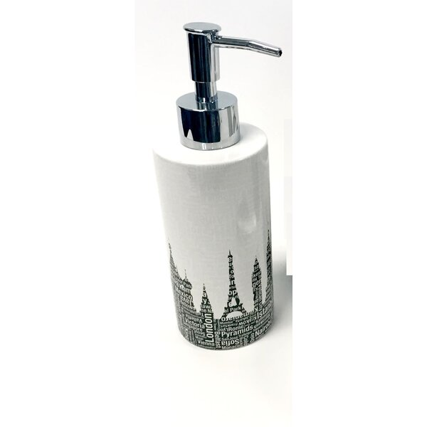 Roma Metro Landmarks Lotion Soap Dispenser by Latitude Run